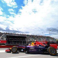 Daniel Ricciardo se reincorpora a la pista