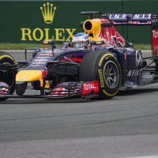 Día normal de pruebas para Sebastian Vettel