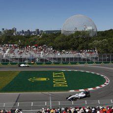 Los dos Williams vuelan en Montreal