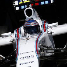Valtteri Bottas clasificó cuarto en el GP de Canadá 2014