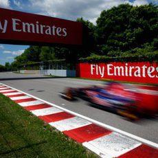 El STR9 vuela por el circuito Gilles Villeneuve
