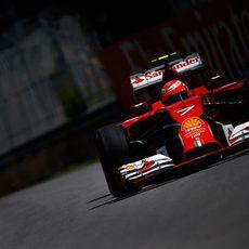 Kimi Räikkönen firmó la última plaza del top ten del sábado