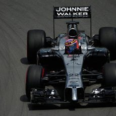 Jenson Button fue el único McLaren en llegar a la Q3