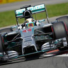 Lewis Hamilton no venció a su compañero el sábado