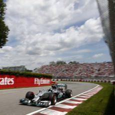 Pole para Nico Rosberg en Montreal