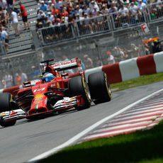 Fernando Alonso partirá desde la séptima plaza