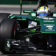 Marcus Ericsson no acabó la Q1