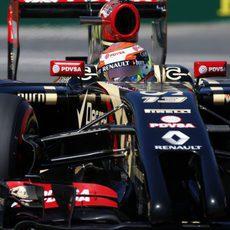 Romain Grosjean tendrá que atacar en carrera