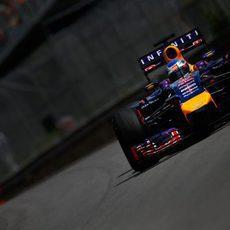 Sebastian Vettel se sacó una gran vuelta en Q3