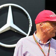 Niki Lauda también estuvo en Canadá