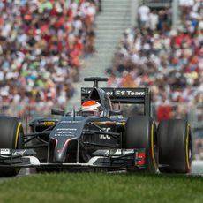 Adrian Sutil logró su mejor resultado del año