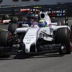 El ritmo de Felipe Massa fue bueno en Canadá