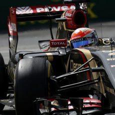 Romain Grosjean se quedó sin puntos en Montreal