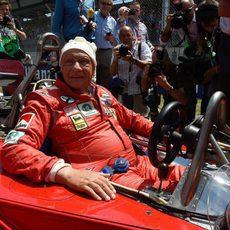 Niki Lauda dio una vuelta al Red Bull Ring