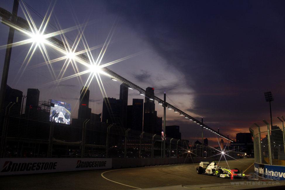Barrichello de noche