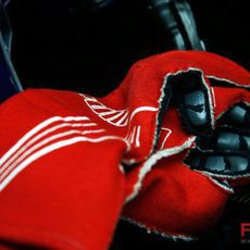 Los guantes de Buemi