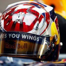 Vettel en el Red Bull