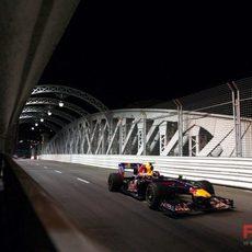 Vettel acaba cuarto