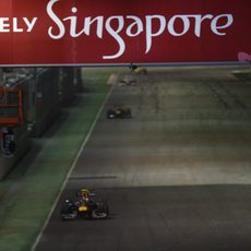 Rosberg en un GP complicado