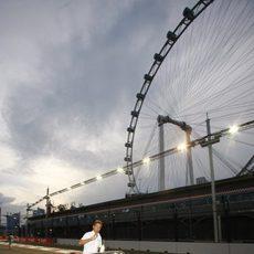 Button en Singapur