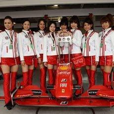 Las chicas de Ferrari