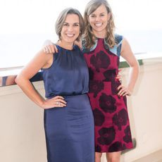 Claire Williams junto a Susie Wolff
