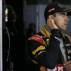 Pastor Maldonado se prepara para competir en Hockenheim