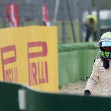 Las opciones de Felipe Massa quedaron arruinadas