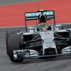 Nico Rosberg dominó el GP de Alemania