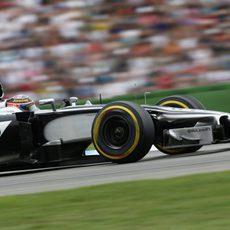 Dos puntos para Jenson Button en Alemania