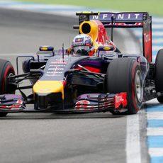 Daniel Ricciardo disfrutó en el Hockenheimring