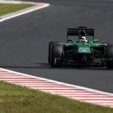Los cambios en el coche mejoraron el rendimiento de Kamui Kobayashi