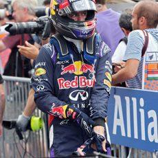 Sebastian Vettel estuvo más cómodo en Hungría