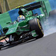 Pasada de frenada de Marcus Ericsson en la Q1