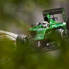 Kamui Kobayashi dio el máximo en la clasificación