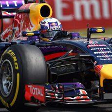 Daniel Ricciardo se vio superado por su compañero