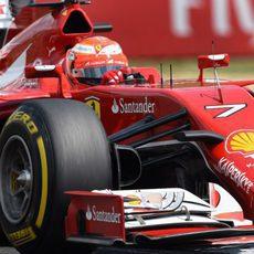 Kimi Räikkönen ultima los entrenamientos