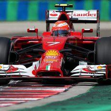 Un decepcionado Kimi Räikkönen cae en la Q1