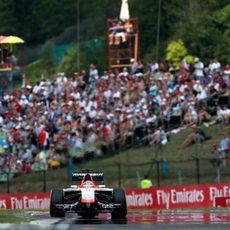 Jules Bianchi logra la 16ª posición