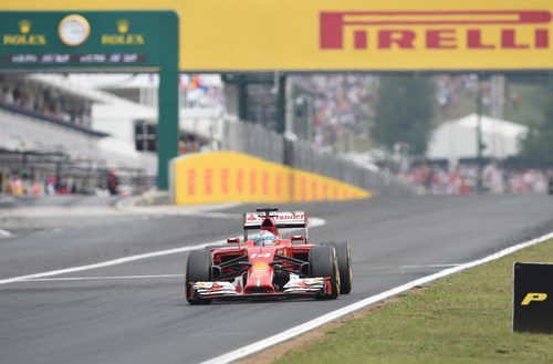 Fernando Alonso alargó su última tanda