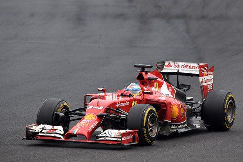 Fernando Alonso lideró gran parte del GP de Hungría