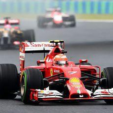 Sexta plaza de Kimi Räikkönen en el Hungaroring