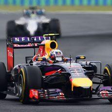 Daniel Ricciardo se marcó un gran último 'stint'