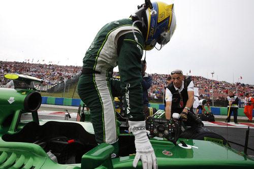Marcus Ericsson se mete en su CT05