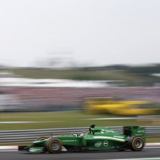 Kamui Kobayashi vuela con los 'option'