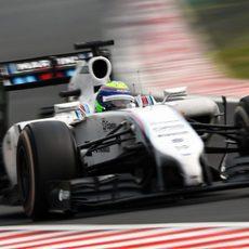 Felipe Massa termina contento el GP de Hungría