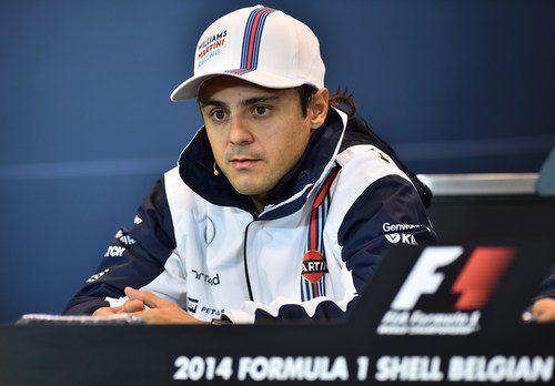 Felipe Massa espera que Williams siga mejorando