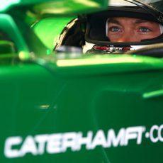 André Lotterer se estrena en F1 con Caterham