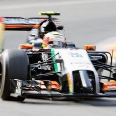 Sergio Pérez espera sumar muchos puntos en Spa