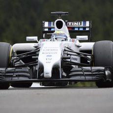 Felipe Massa es consciente de la potencia de Mercedes